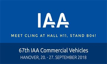 cling booth at IAA 2018